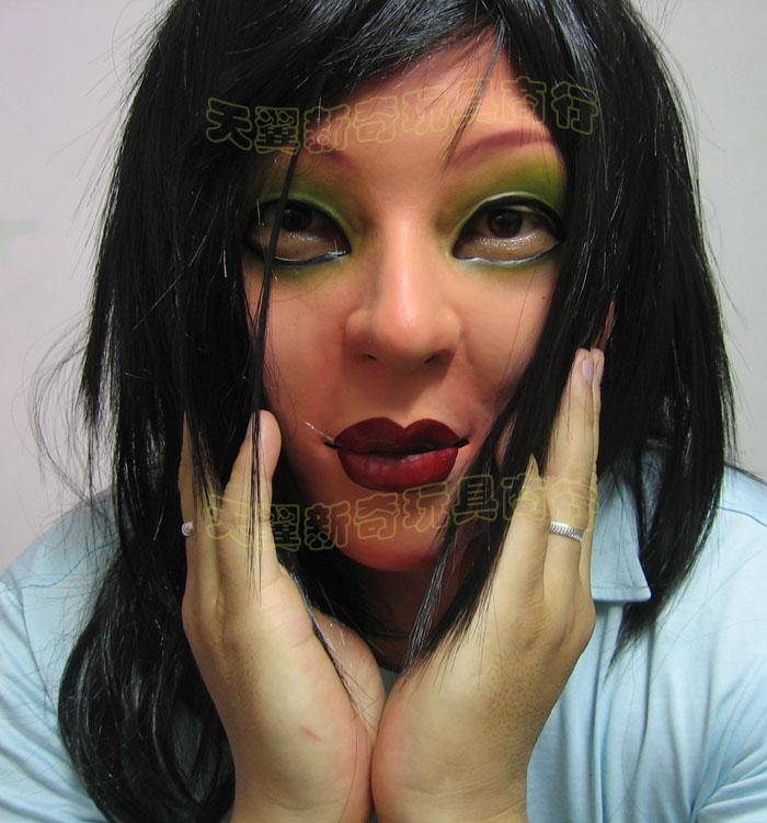 男人变女人的CD同志用具化妆舞会恶作剧模仿