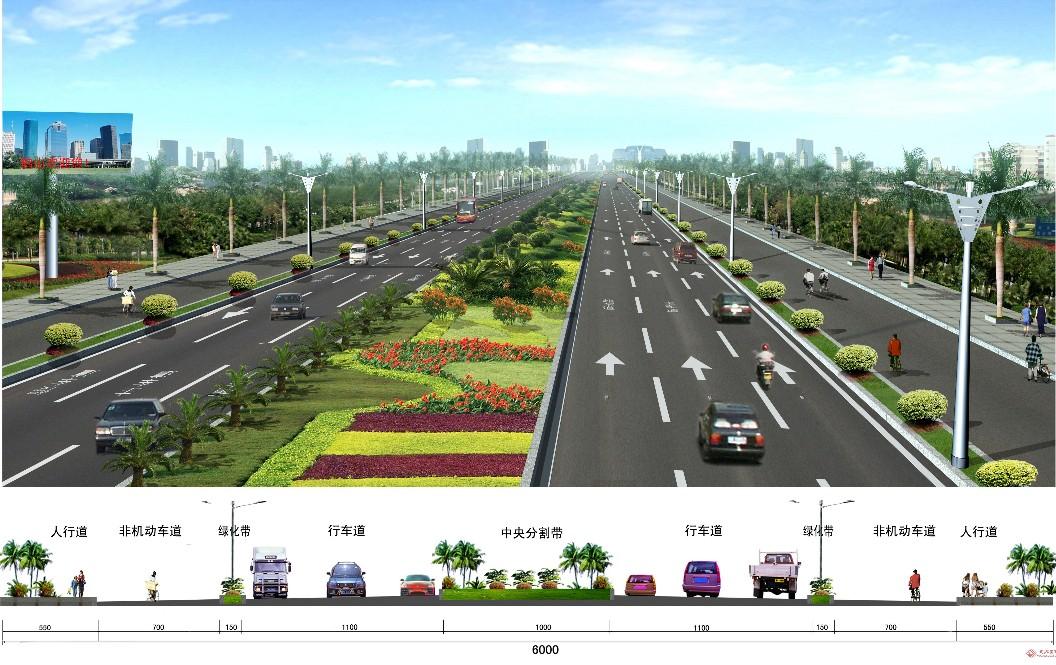 市政视线设计CAD交通设施设计CAD2.5市政cad道路分析图图片