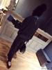 欧洲站2018秋季韩流时尚雪花点潮搭九分直筒显瘦针织裤女
