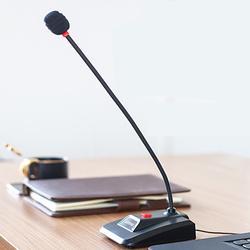 Lenovo联想PCM103台式电脑麦克风会议广播专用笔记本usb有线桌面鹅颈网课演讲话筒游戏主播语音直播录音设备