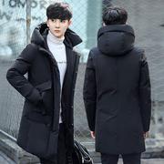 棉衣男冬季加厚外套男冬装棉袄子潮流中长款羽绒棉服