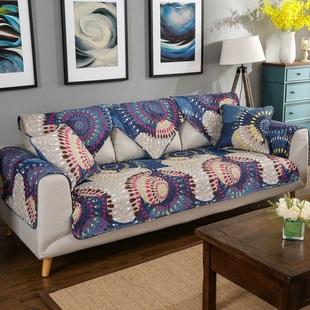 坐椅组合坐垫欧式万能布套实木简欧现代三人椅垫沙发垫防滑宜家定