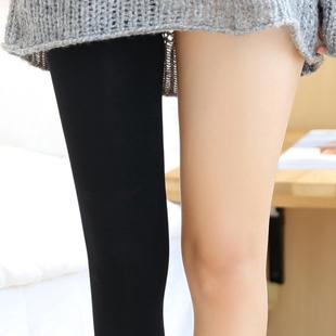 日本压力裤打底袜春秋季连裤袜女中厚秋冬天鹅绒丝袜外穿显瘦腿