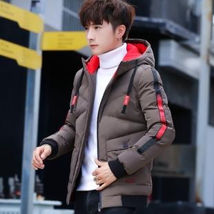 2018冬季潮流男式棉衣冬装短款帅气羽绒棉服加厚冬天外套