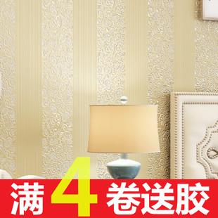 现代简约无纺布墙纸店面环保客餐厅办公卧室室电视背景非自粘壁纸