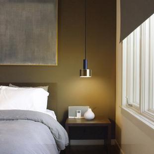 北欧床头吊灯简约现代卧室灯具个性创意餐厅吧台工业风LED丹麦灯