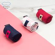 日本MARNA可折叠包购物袋手提单肩包收纳便携Shupatto环保妈咪包