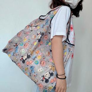 加大号买菜购物袋环保袋买菜包可折叠便携超市环保购物袋防水手提
