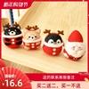 扎扎乐羊毛毡戳戳乐新年diy手工材料包挂件企鹅柴犬圣诞老人礼物