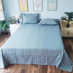 麻布床单老粗布加厚加密全棉麻帆布纯棉山东老粗布床单粗布大炕单