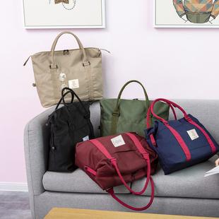 行李包女短途网红旅行包男大容量轻便健身手提行李袋出差旅游