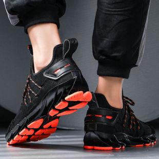 锋男鞋夏季透气2019运动鞋网面百搭潮鞋软底网鞋跑步鞋