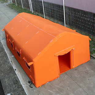 充气洗消帐篷户外防雨救灾医疗抗寒消防指挥施工移动蒙古包野外