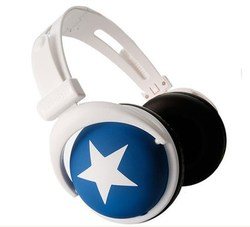 大星星耳機MP3手機電腦遊戲耳機筆記本台式頭戴式耳機重低音耳麥