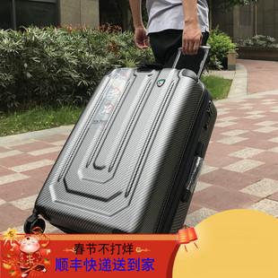 镇店之宝商务登机箱拉丝拉杆箱防刮大容量行李箱静音万向轮登机箱