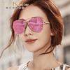 海伦凯勒太阳镜女潮明星款 偏光镜墨镜女大框开车眼镜H8618