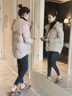 面包服棉衣女短款2019冬季宽松加厚羽绒棉服外套连帽棉袄