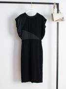 连衣裙女夏2019气质高端蝙蝠袖显瘦中长款K