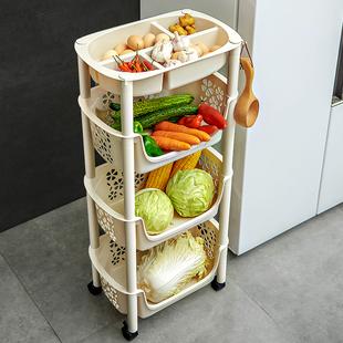 厨房置物架落地多层水果蔬菜玩具收纳神器菜筐篮子用品用具小百货