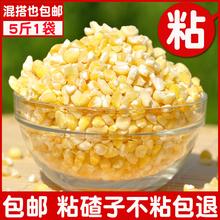 东北农家自产玉米大碴子粘玉米渣5斤黏大碴子粘苞米糯玉米碴
