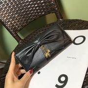 商场撤柜高档女包长款大容量三折钱夹票夹女包钱包皮夹子