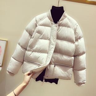 棉衣女短款立领2018冬学生羽绒棉服外套加厚保暖小棉袄潮