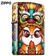 东来也Xzippo打火机正版美国防风彩印限量创意煤油芝宝zppo