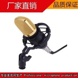 BM-700大震膜电容麦克风套装酷狗唱吧yy主播电脑K歌录音话筒