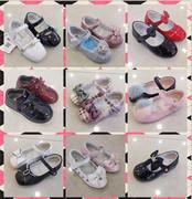 斯乃纳2020春秋款女童幼童时尚软底羊皮公主真皮单皮鞋