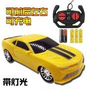 送礼佳品儿童男孩玩具遥控汽车高速漂移赛车充电带灯光模型玩具