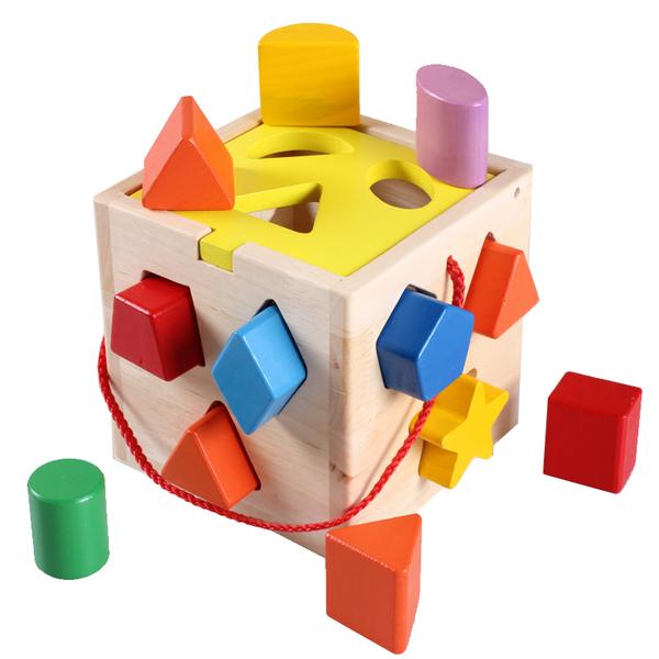 幼儿童婴儿积木 一周岁半男宝宝益智力玩具0-