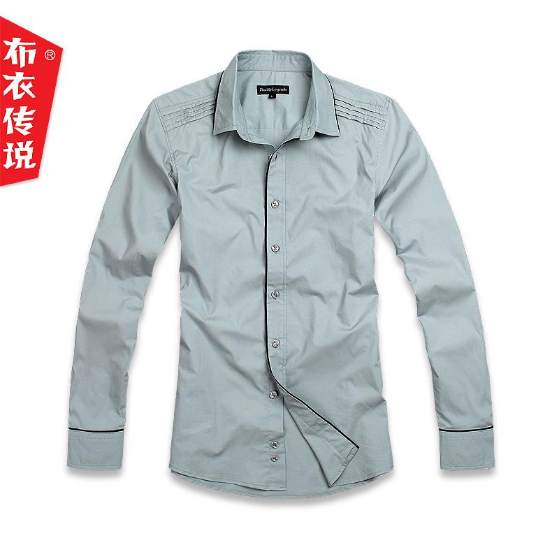 Рубашка мужская Pouilly Legende ncc071c 2012 9.25 NCC071 Хлопок без добавок Длинные рукава ( рукава > 57см )