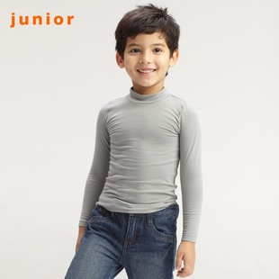 2012 Giordano G-Warmer smart half-turtle neck long sleeve underwear for children 03211503