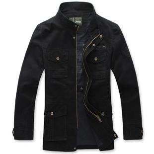 Куртка JEEP 11098 5XL 195 Хлопок Воротник-стойка Модная одежда для отдыха