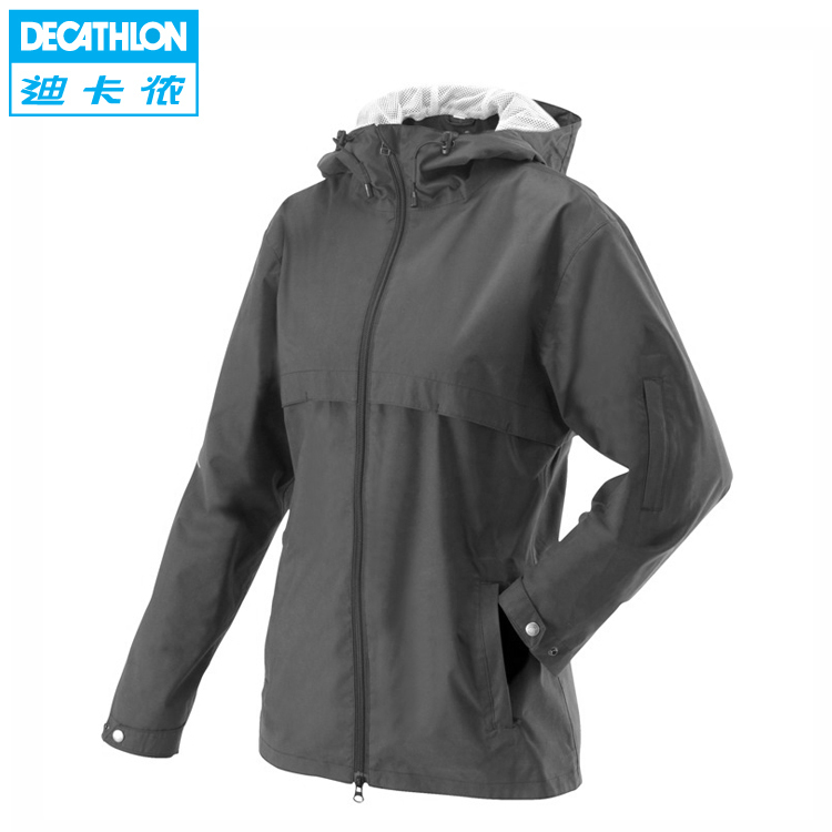 Decathlon authentic 60 percent riding jacket ladies windproof breathable equestrian clothing FOUGANZA