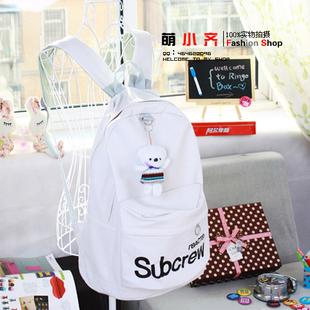 Сумка 2012 новые пары Корейский женские сумки сумка Pu кожа средней Корейский холст мешки для отдыха жен. сумка на 2 плеча однотонный цвет искусственная кожа