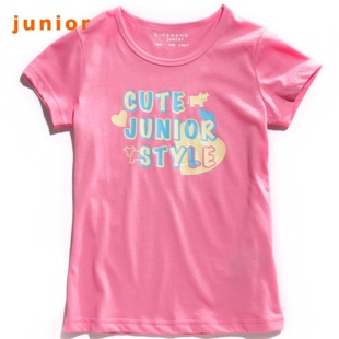 Giordano in summer 2012 new infinite love for t-girls calf t-shirt 03392001