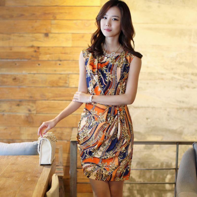 Женское платье 309 Лето 2012 Шифон