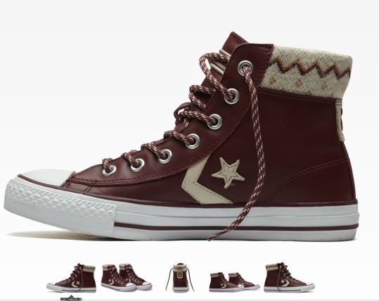 Кеды Converse 128435c 5.5 STARPLAYER HI (37 Зима 2011 Унисекс