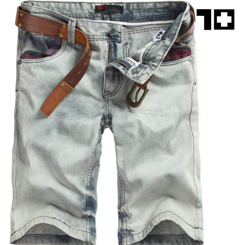 Джинсы мужские SEVNJOEN 12dk01 2012 Прямые брюки Классическая джинсовая ткань Модная одежда для отдыха