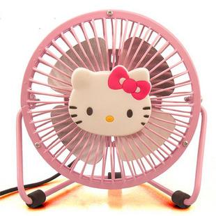 东莞市/HelloKitty电风扇/㊣迷你全金属USB电动风扇...