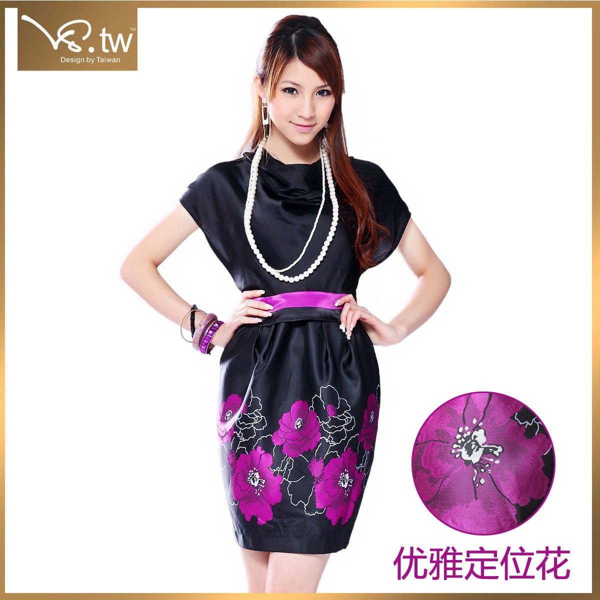 Женское платье VS.TW s1835 2011 OL Шифон