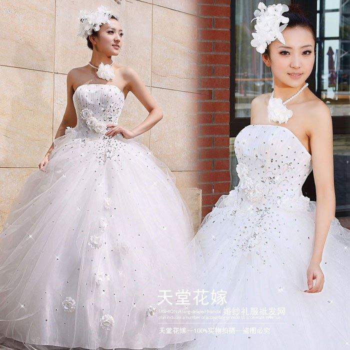 Свадебное платье Paradise Hanayome HS/0090 2011 HS-0090 Органза Другой тип
