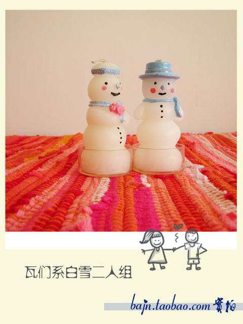 Ароматическая свеча Оформление|бытовых товаров-ремесло свеча-Снеговик с детьми&мидот;теплый подарок 5% скидка