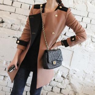 женское пальто 2012 Зима 2012 Длинная модель (80 см<длина изделия ≤ 100 см) Длинный рукав Разный тип рукава