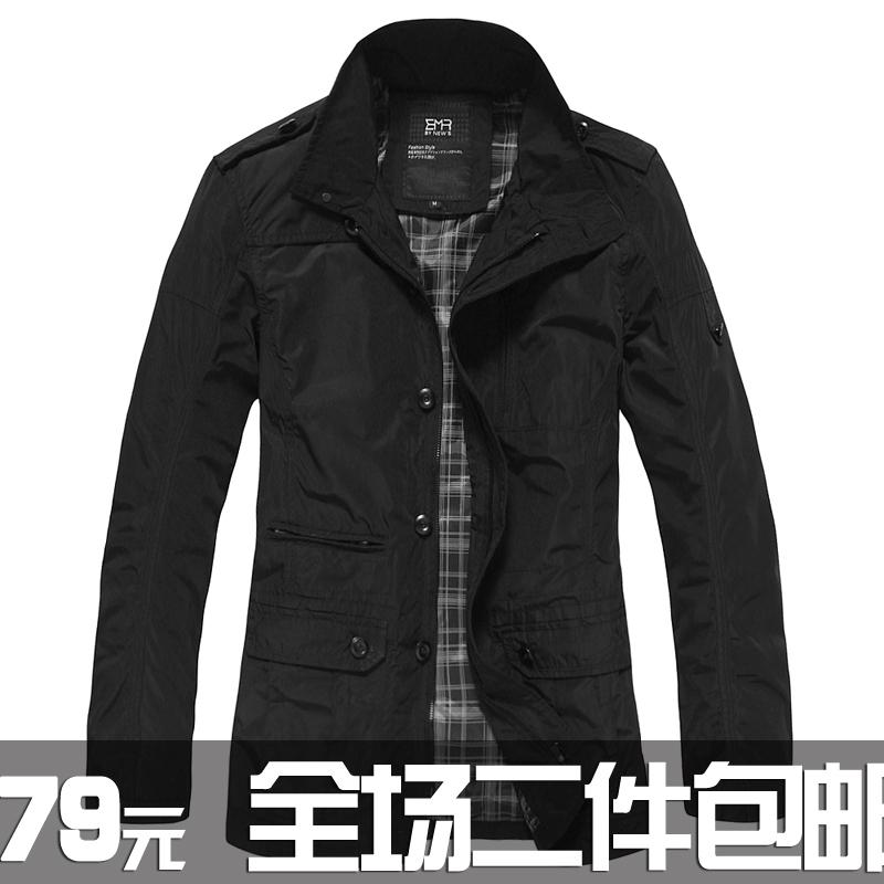 Куртка Digital people 1045 2012 Хлопок без добавок Воротник-стойка Эксклюзивные корейский и японский стили