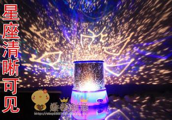 ¥37: 在线商城的天体投射星空灯 diy投影灯 个性创意生日礼物 圣诞图片