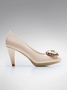Dream ba Sally women's shoes 2012 spring new single shoes shallow mouth thick with pointed high-heeled shoes son 121012101