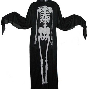 Halloween skeleton impromptu dance party clothes clothing dress Halloween clothes ghost skull clothing