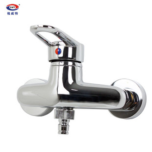 GWEAT copper washing machine washing machine hot and cold faucets faucet faucet 6 General quarter!